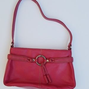 The Sak Purse Bright Pink Leather Bag